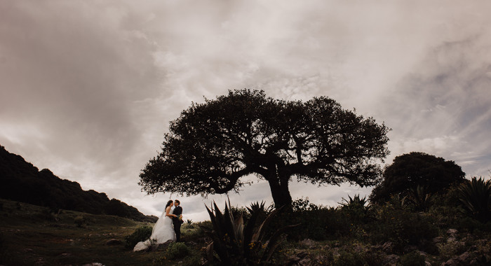 Trash the dress Erika y Abraham