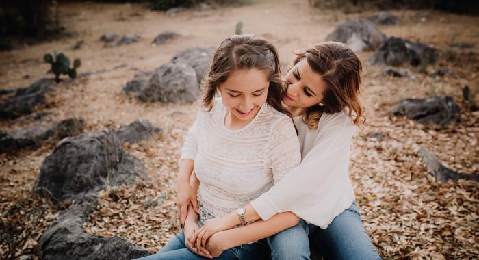 Angie y Azul (sesión Madre e hija)