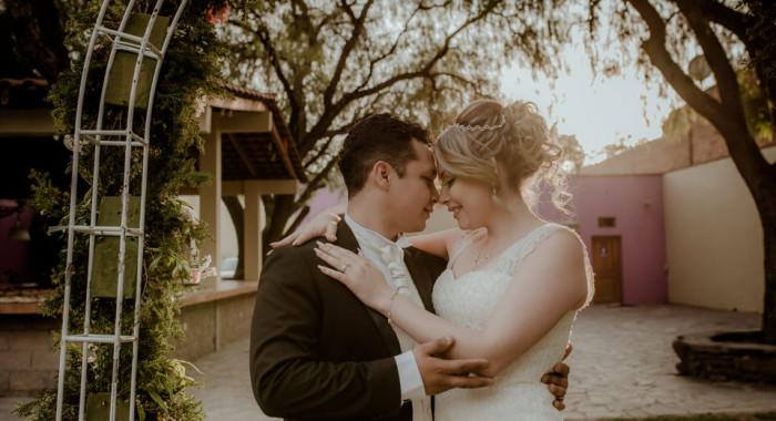 Gaby y Pepe wedding day