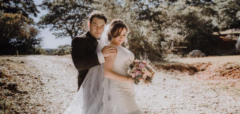 April y Rodrigo wedding day
