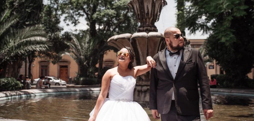 Aida y Axel wedding day