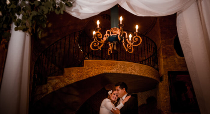 Roxana y Joel intimate wedding