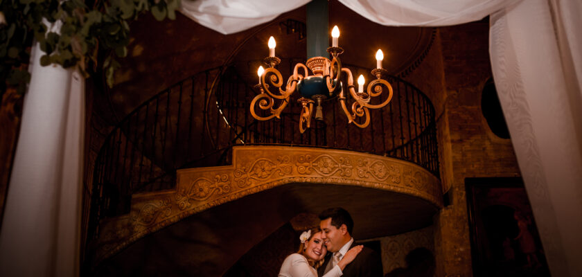 Roxana y Joel intimate wedding