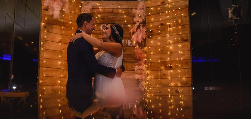 Gaby y Emmanuel wedding day